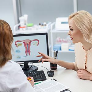 Beratung beim Frauenarzt
