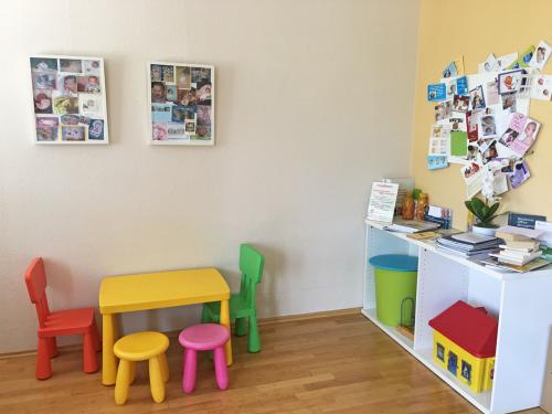 Wartezimmer Kinderbereich Praxis Dr. Verena Breitenbach
