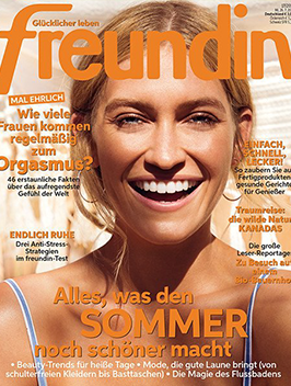Cover der Zeitschrift Freundin
