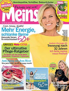 Cover der Zeitschrift Meins