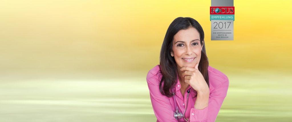 Dr. Verena Breitenbach, Focus Empfehlung